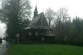 zabytkowy kościółek w czeskiej Hrcavie