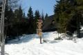 przy schronisku ponad 100cm śniegu