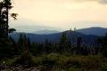 widok z Rozdziela w stronę Babiej Góry