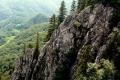 skały szczytu Galbenei