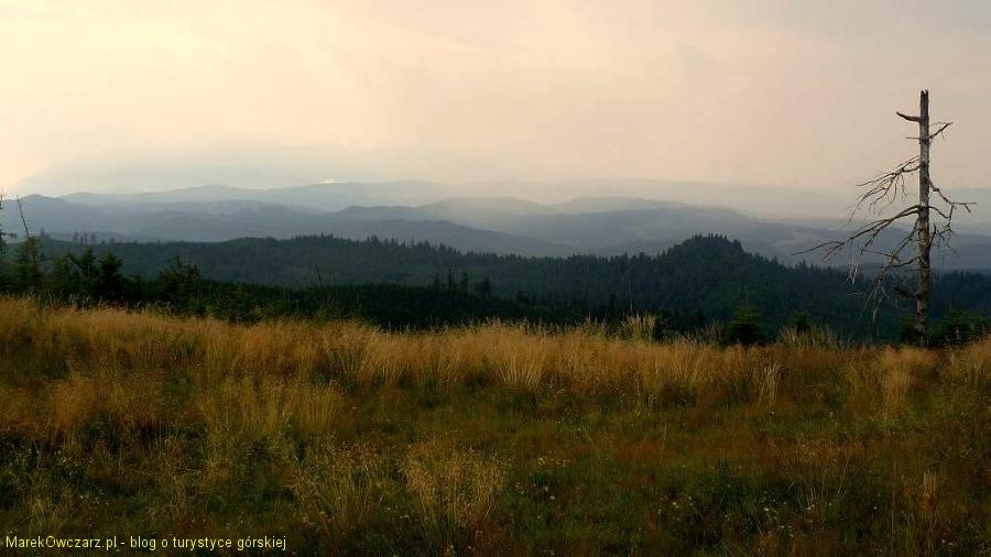 w kierunku Tatr za chmurami