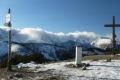 zimowa panorama z Grzesia na Tatry Zachodnie