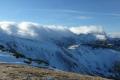 słowackie Tatry Zachodnie w chmurach