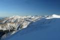 panorama od Giewontu po Starorobociański Wierch