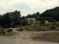 parking na rozdrożu szlaków w Remetskie Hamre