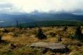 Stóg Izerski w chmurach