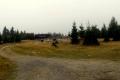 ruiny zabudowań na Polanie Izerskiej