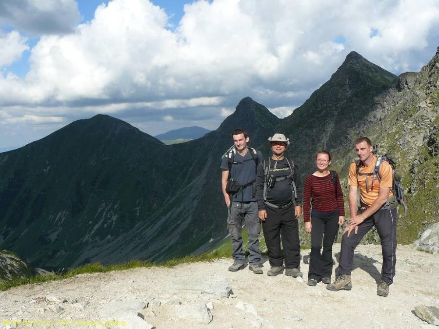 ekipa na Smutnej przełęczy, przebyta trasa za nami