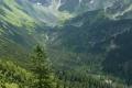 dolina Smutna z Rohaczami i widocznym bufetem