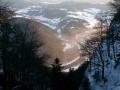 zakole Dunajca w dole