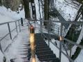 wejście na platformę widokową na Okrąglicy