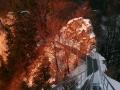 metalowe schody na wierzchołek Trzech Koron