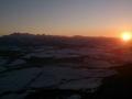 Tatry przed zachodem słońca