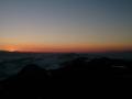 słońce zachodzi za Tatrami