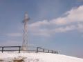 krzyż na szczycie