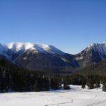 Zimowo w Tatrach Zachodnich, na Iwaniackiej Przełęczy, Grzesiu i Rakoniu