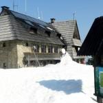 Turbacz i Bukowiny podane na zimowo.
