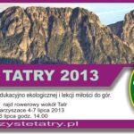 Akcja Czyste Tatry 2013