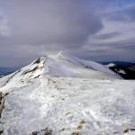 Zimowo na Połoninie Caryńskiej