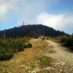 Na Łysej Górze, czyli pierwszy raz w czeskich górach