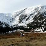 Zimowo na Kopie Kondrackiej i prawie jesiennie na Giewoncie, czyli jaką mamy zimę w lutym