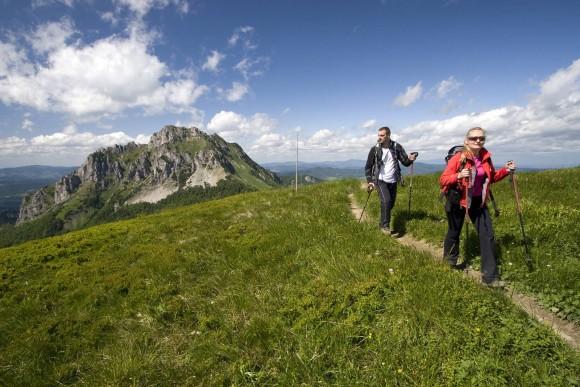 w górach Małej Fatry, w tle Wielki Rozsutec, foto by WiktorBubniak.pl