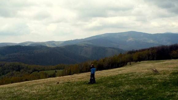 widok z Jeleniego Wierchu