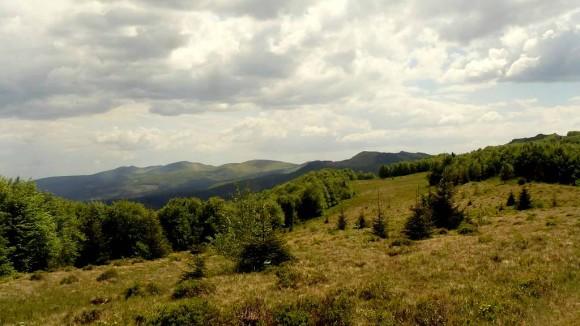 panorama Bieszczad Wschodnich