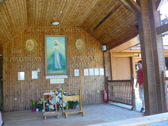 kaplica z obrazem Matki Boskiej Litmanowskiej