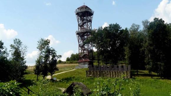 wieża widokowa w Trzcinicy