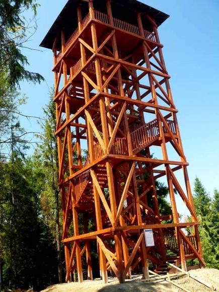 nowa wieża na Eliaszówce