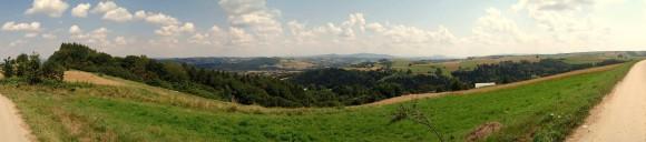 panorama z wieży