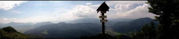 panorama Gór Choczańskich, Niżnych Tatr i Wielkiej Fatry