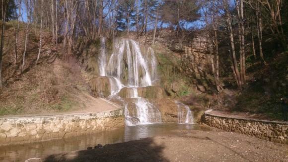Luczański wodospad w Łączkach
