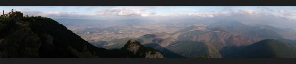 panorama z Wielkiego Chocza