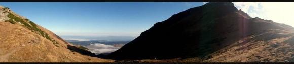 widok z Szerokiej Przełęczy w kierunku Szalonego Wierchu