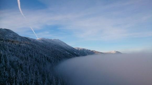 Babia Góra widziana z Sokolicy