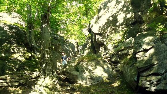 ścieżka Kunegundy w Piekielnej Dolinie