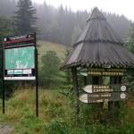 We mgle na Rudawiec i dalej do Bielic