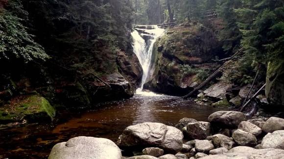wodospad Szklarki- Karkonosze