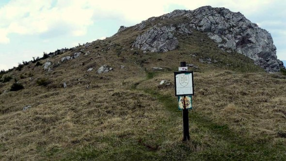 chroniony rezerwatem wierzchołek Suchego Wierchu