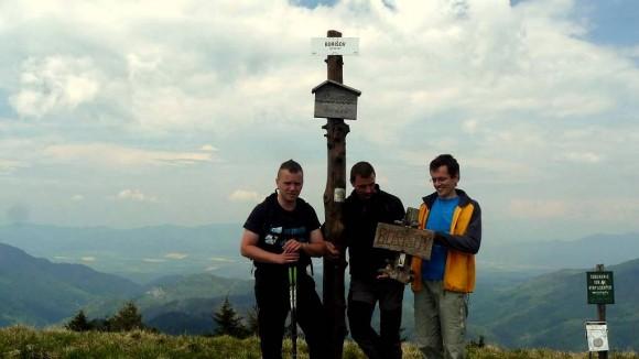 ekipa na szczycie Boryszowa