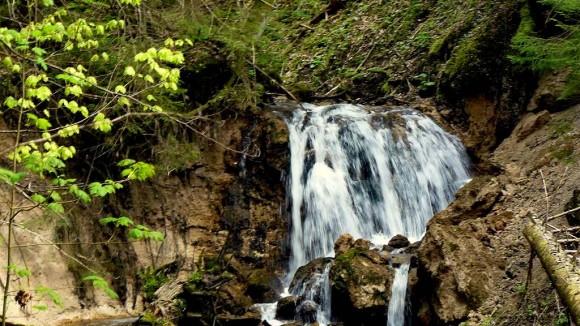 dolny wodospad Ciepłego Potoku
