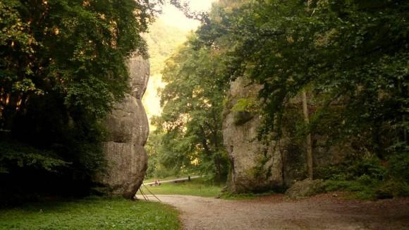 słynna brama skalna-Brama Krakowska