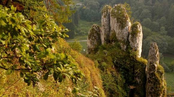 skała Rękawica, czyli Pięciopalcówka