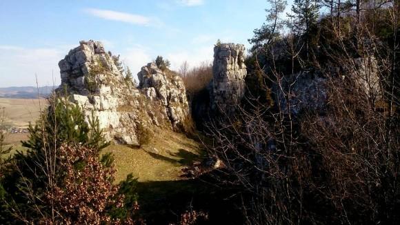 w skalnym rezerwacie Drevenik