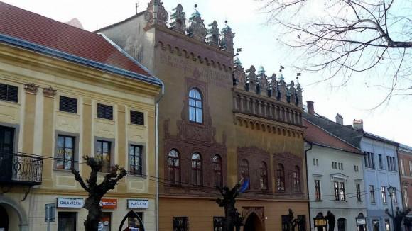 Renesansowy dom Thurzonów przy placu Mistrza Pawła