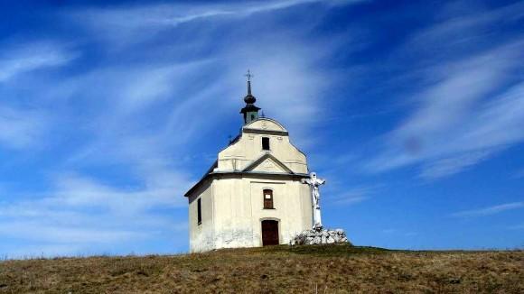 kaplica św.Krzyża na wzgórzu Siva Brada