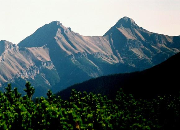 Hawrań i Płaczliwa Skała w Tatrach Bielskich