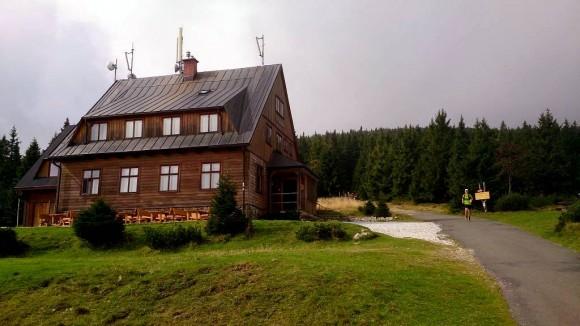 czeskie schronisko Jelenka na Czarnym Grzbiecie